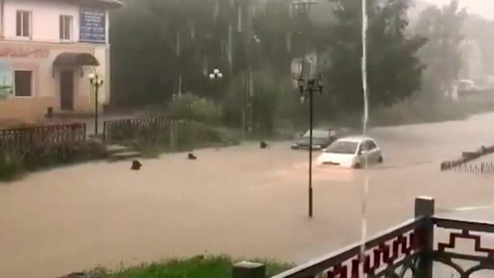 滨海边疆区已发出风暴警告