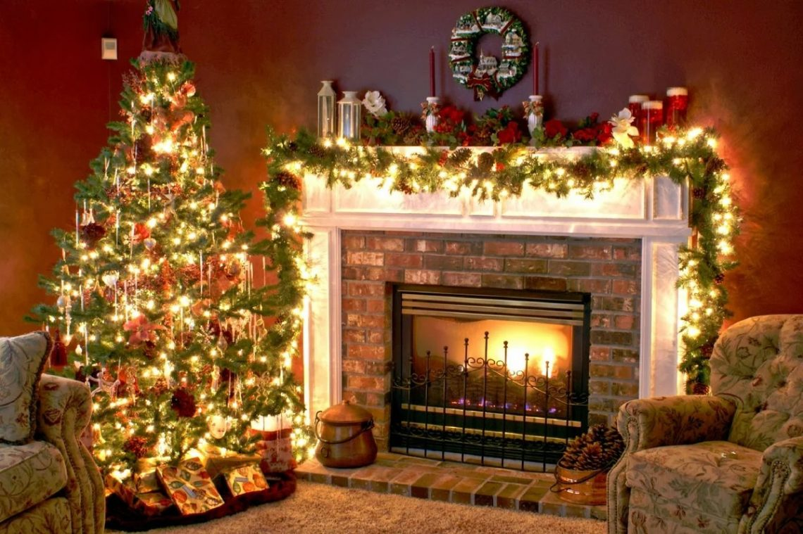 Символика камина на Новый год и Рождество