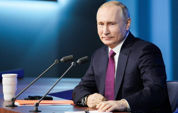 Видеоконференция Путина В.В. 2020 от 17.12.2020 полная версия