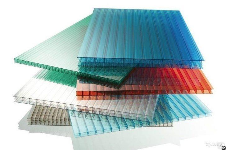 Цветной сотовый поликарбонат: сфера применения