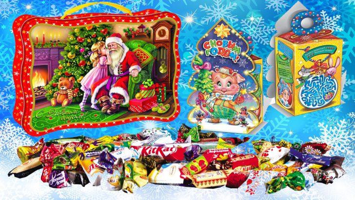 Новогодние сладкие подарки