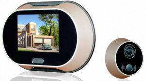 Видеоглазок для входной двери: виды и особенности устройства