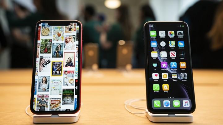 Продажи смартфонов резко пошли вверх