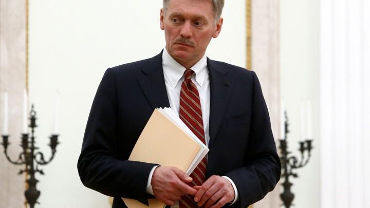 Песков: президент России не использует Zoom для связи с подчиненными