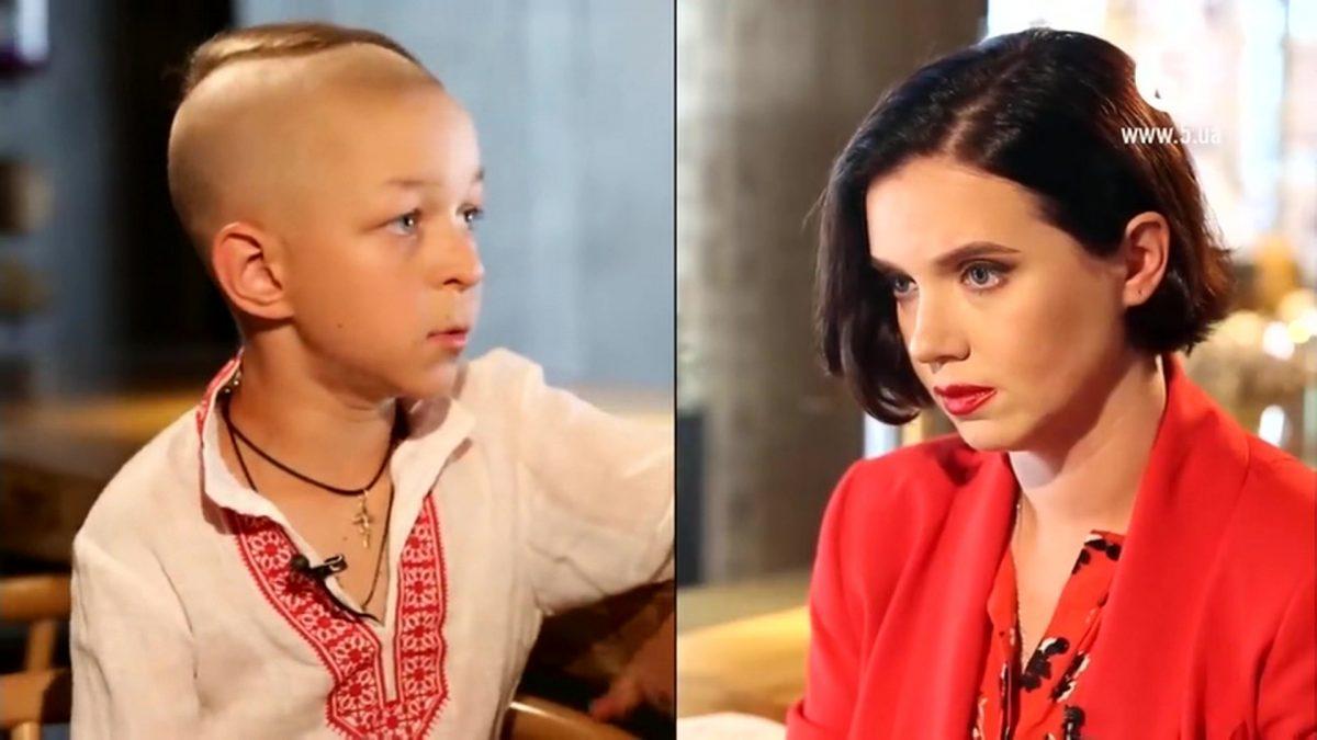 """Циничные украинские журналисты показали интервью """"ребенка-националиста"""""""